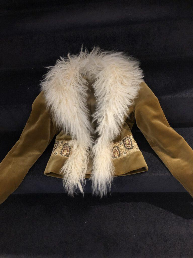 Vintage Samt Jacke